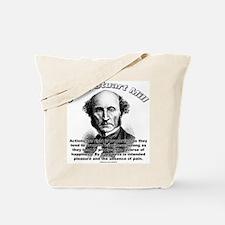 John Stuart Mill 01 Tote Bag