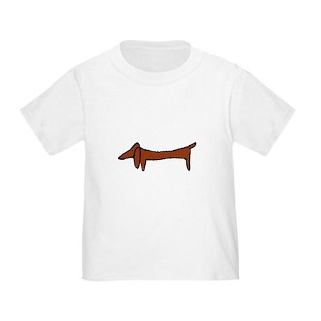 Weiner Dog Toddler T-Shirt