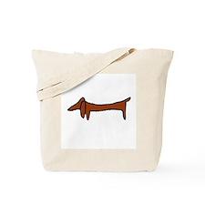 Weiner Dog Tote Bag