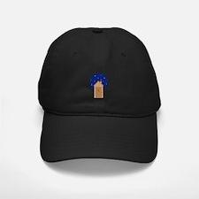 Nighttime Outhouse Baseball Hat