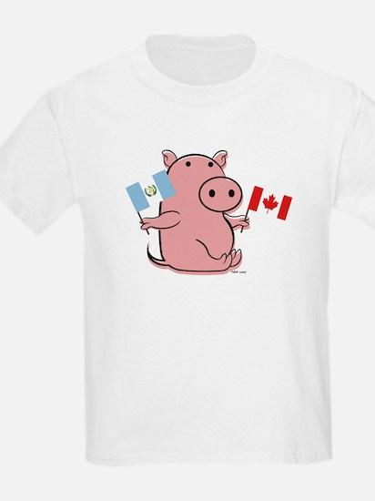 CANADA AND GUATEMALA T-Shirt