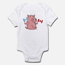 CANADA AND GUATEMALA Infant Bodysuit