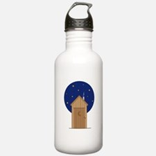 Nighttime Outhouse Water Bottle