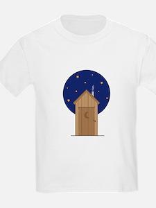 Nighttime Outhouse T-Shirt