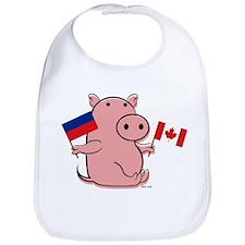 CANADA AND HAITI Bib