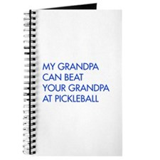 my-grandpa-pickleball-FUT blue Journal