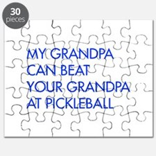 my-grandpa-pickleball-FUT blue Puzzle