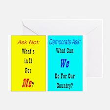 Vote Democrat Greeting Cards (Pk of 10)