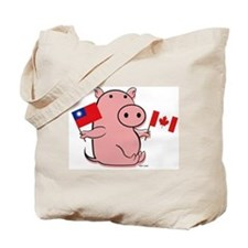 AUSTRALIA AND TAIWAN Tote Bag