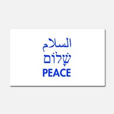 Peace Car Magnet 20 x 12