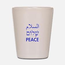 Peace Shot Glass