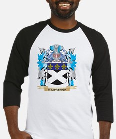 Fitzpatrick Coat of Arms - Family Crest Baseball J