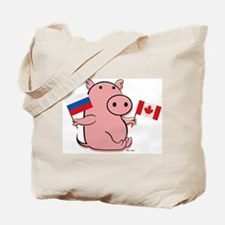 CANADA AND RUSSIA Tote Bag