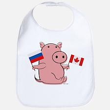 CANADA AND RUSSIA Bib