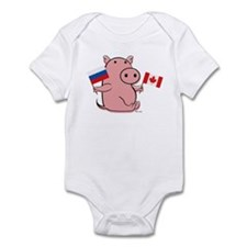 CANADA AND RUSSIA Infant Bodysuit