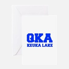 QKA Keuka Lake Greeting Cards