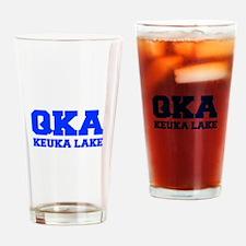 QKA Keuka Lake Drinking Glass