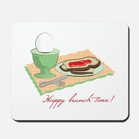 Happy Brunch Time Mousepad