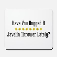 Hugged Javelin Thrower Mousepad