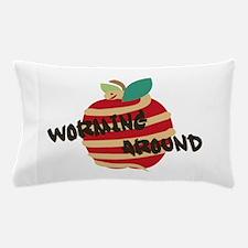 Worming Around Pillow Case
