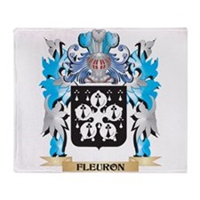 Cute Fleuron Throw Blanket