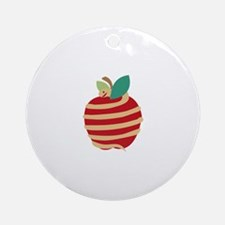 Snake Apple Ornament (Round)