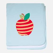 Snake Apple baby blanket