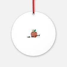 Bad Apple Ornament (Round)