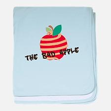 Bad Apple baby blanket