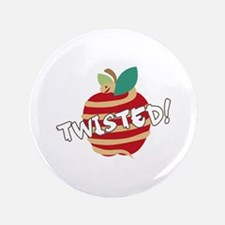"Twisted Apple 3.5"" Button"