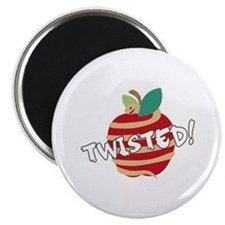Twisted Apple Magnets