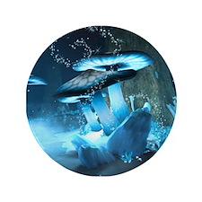 "Ice Fairytale World 3.5"" Button (100 pack)"
