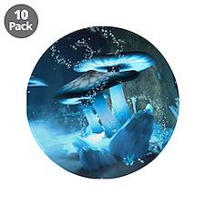 "Ice Fairytale World 3.5"" Button (10 pack)"