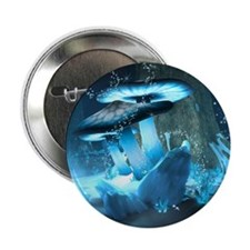 "Ice Fairytale World 2.25"" Button (10 pack)"