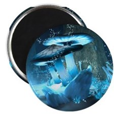 Ice Fairytale World Magnets
