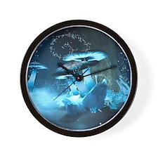 Ice Fairytale World Wall Clock