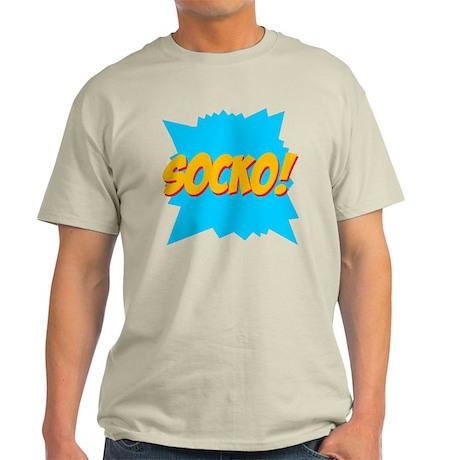 Socko! Ash Grey T-Shirt