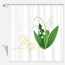 Sweetness & Humility Shower Curtain
