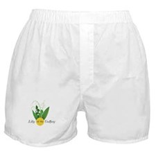 Lily Of The Valley Boxer Shorts