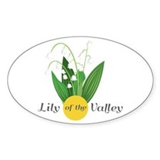 Lily Of The Valley Decal