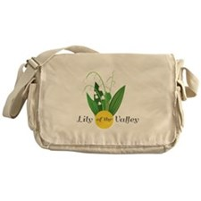 Lily Of The Valley Messenger Bag
