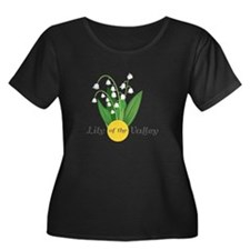 Lily Of The Valley Plus Size T-Shirt