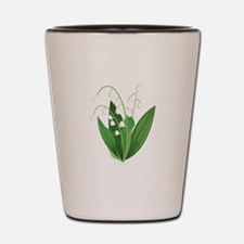 Lily Of The Valley Shot Glass