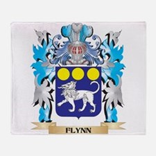 Cute Family crests coat of arms Throw Blanket