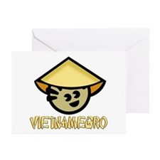 Vietnamegro Greeting Cards (Pk of 10)