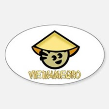 Vietnamegro Oval Decal