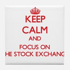 Unique Stock exchange Tile Coaster