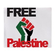Cute Palestine Throw Blanket