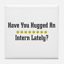 Hugged Intern Tile Coaster