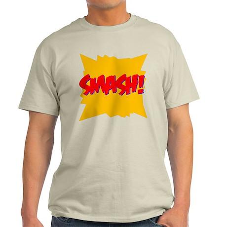 Smash! Ash Grey T-Shirt
